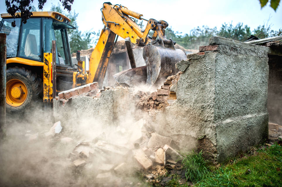 demolition batiments mons