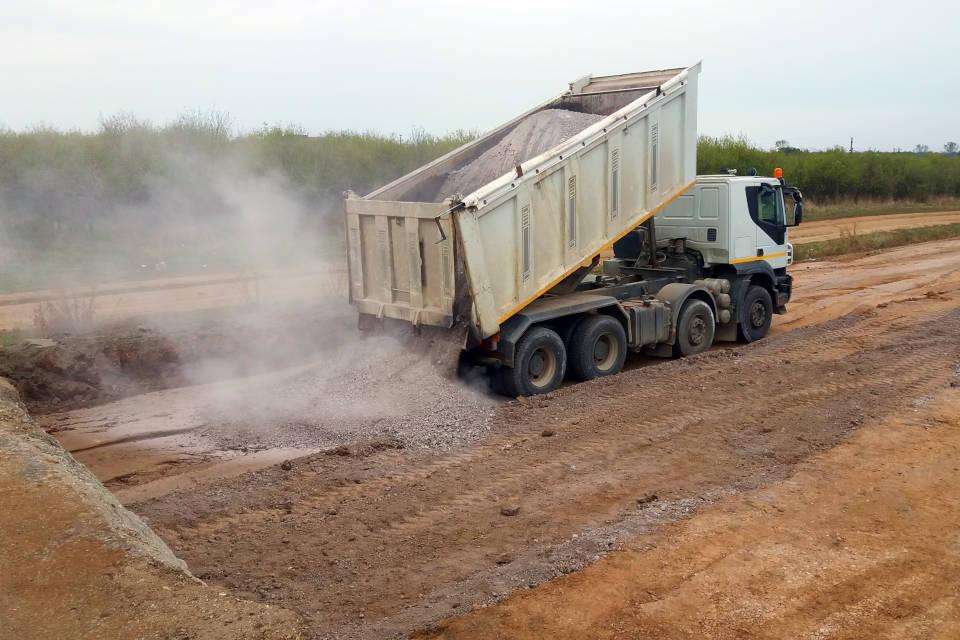 transport de materiaux mons